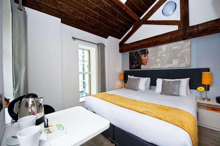 Hotel room sleeps 2