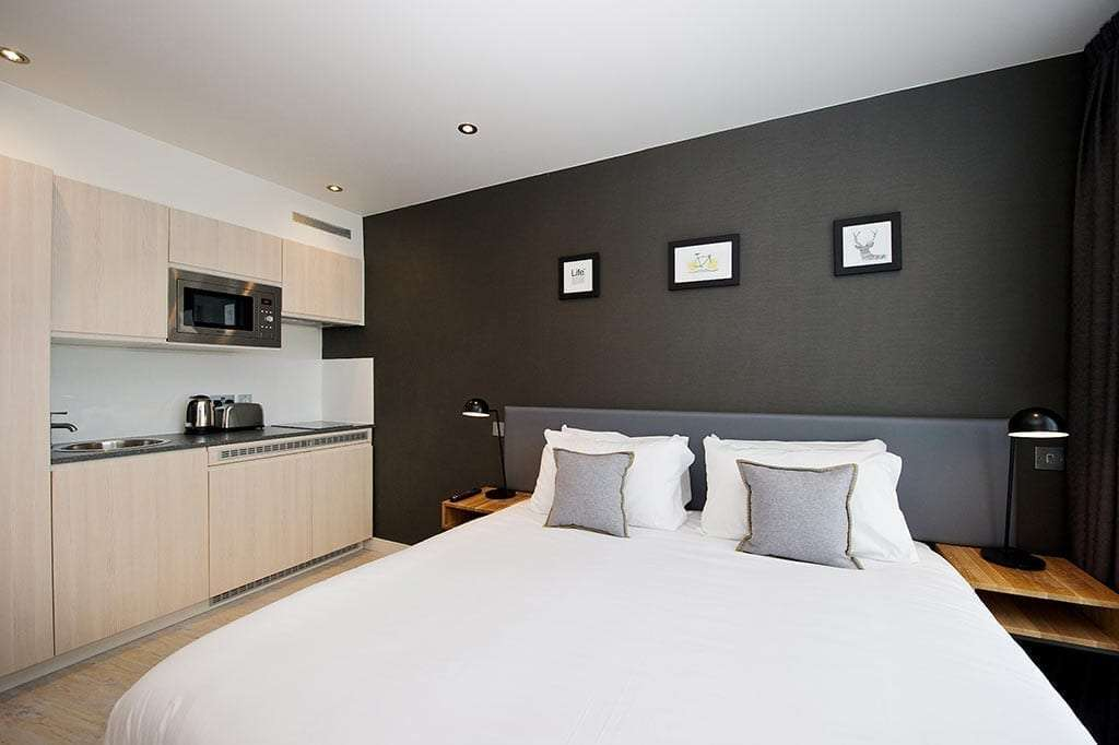 Studio Apartment York staycity aparthotels paragon street | serviced apartments in york