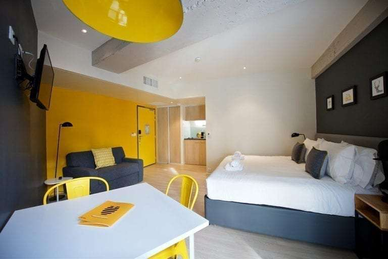 staycity aparthotels rue garibaldi serviced apartments in lyon. Black Bedroom Furniture Sets. Home Design Ideas