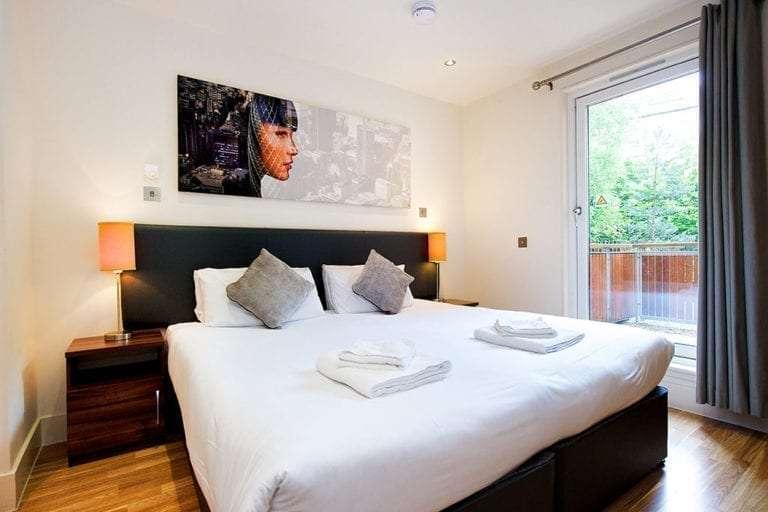 1 bedroom open plan