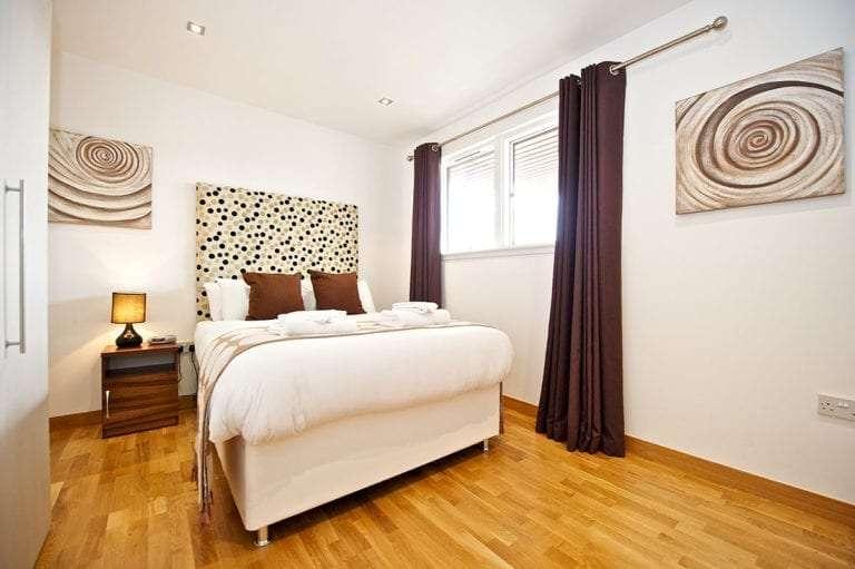 1 bedroom sleeps 3