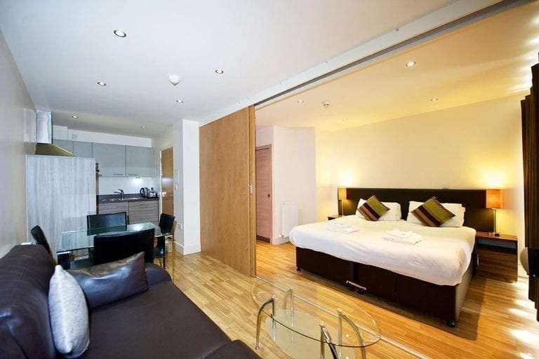 2 bedroom open plan