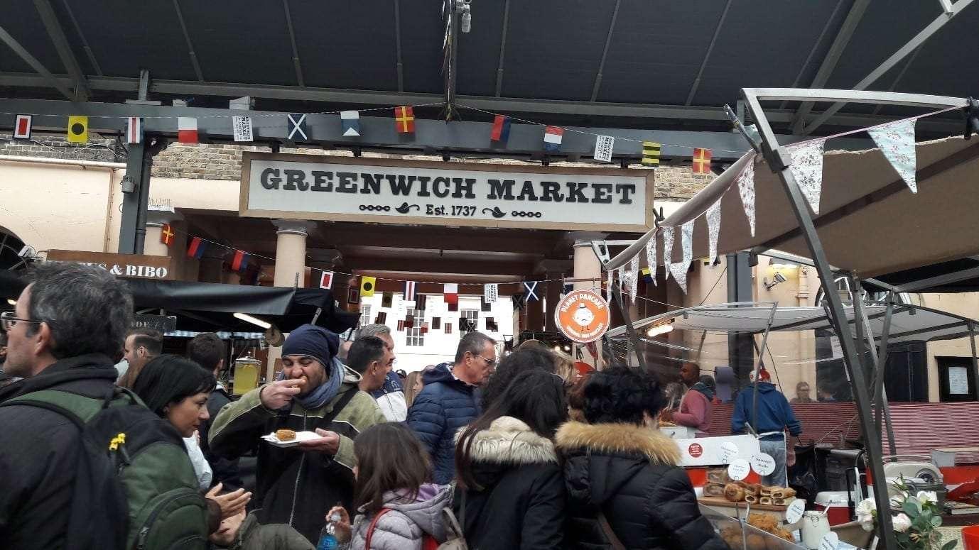 Il mercato alimentare di Greenwich