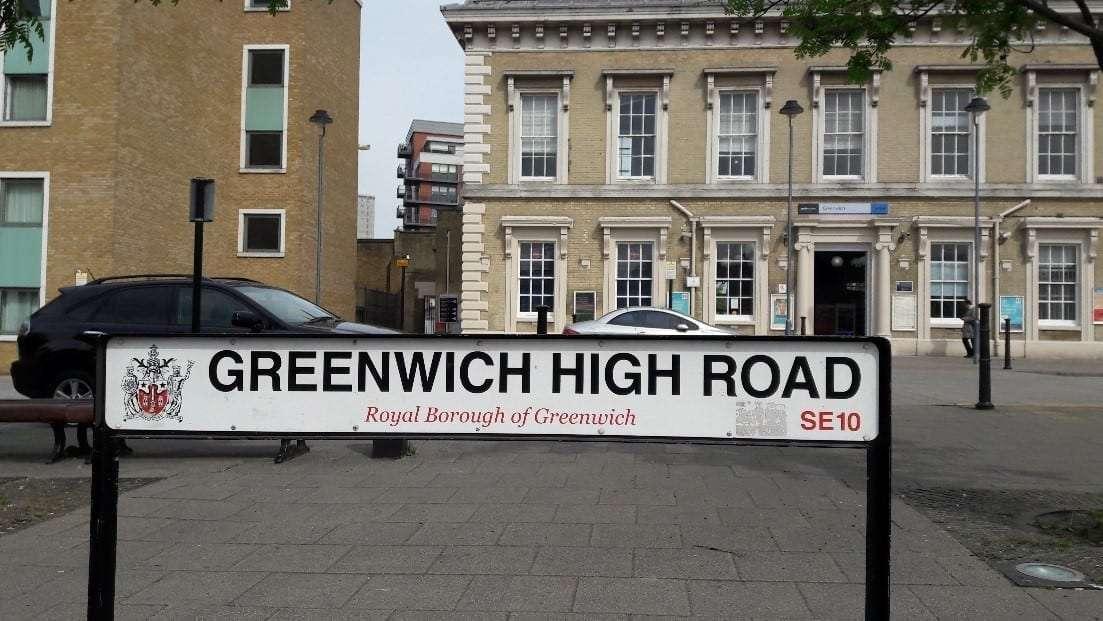 Greenwich High Road